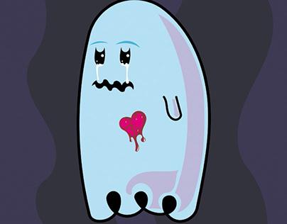 Misunderstood, heart-broken spook