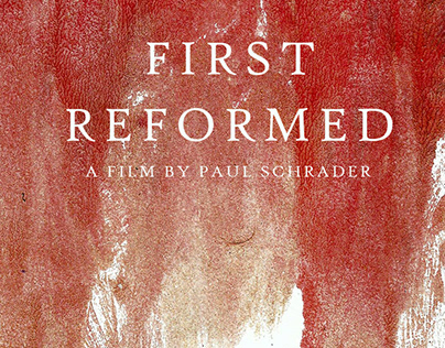 First Reformed Cover Concept