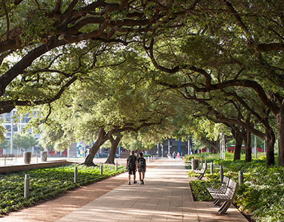 Discovery Green, Houston, Texas