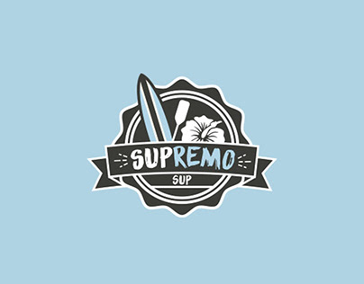 Identidade Visual - SUPRemo SUP
