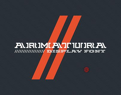 Armatura display // Typeface