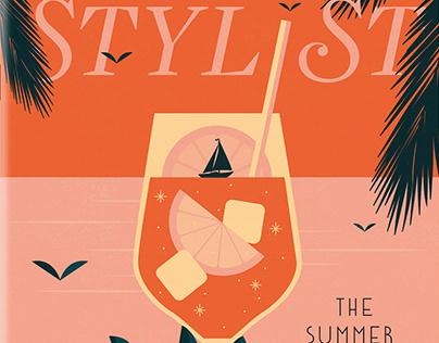 Stylist Magazine Cover Illustration