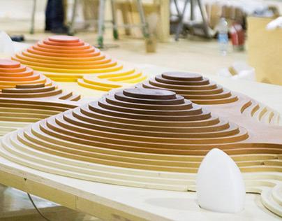 A colorfood landscape   Exhibit per HOMI Fiera Milano