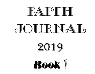 2019 Faith Journal Book 1