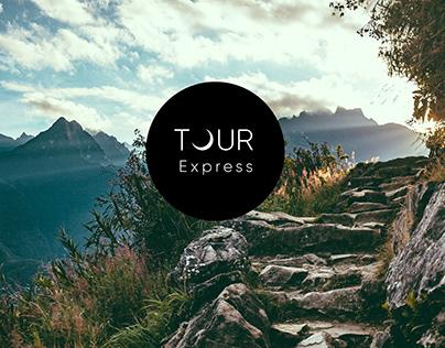 Tour Express Brand Redesign