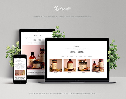Redeem // Website