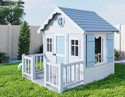 Kid - Wooden House for Kids