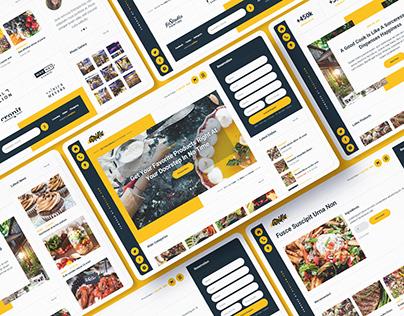 Grilla - Restaurant Website Template