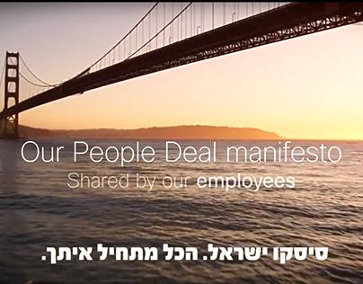 Cisco - Our People Manifesto - Israel