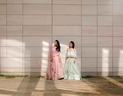 Mili and Amanda   Andaz Delhi