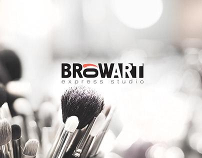 Rebranding & Brandbook. Browart express studio