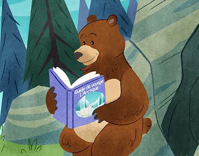 Kiki au pays des ours polaires- Édition Grand Duc