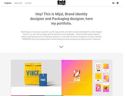 Wordpress Portfolio Website