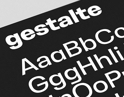 Gestalte | Custom Brand Typeface