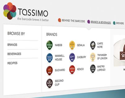 Tassimo Canada: Responsive Redesign