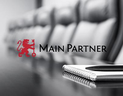 """Brand identity for """"Main Partner"""""""