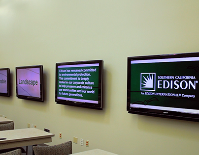Digital Signage Projects for Southern California Edison
