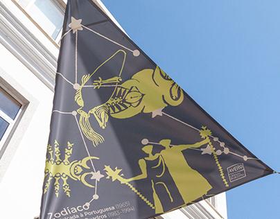 Zodiac in Portuguese Pavement Art