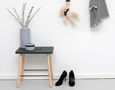Pick ME stool by Anna Karnov