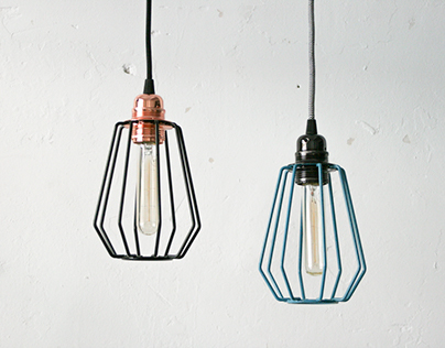 Palitos Naked lamp by Sergio Mendoza