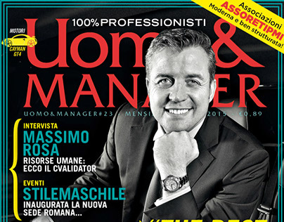 Uomo&Manager#23 / Marzo 2015