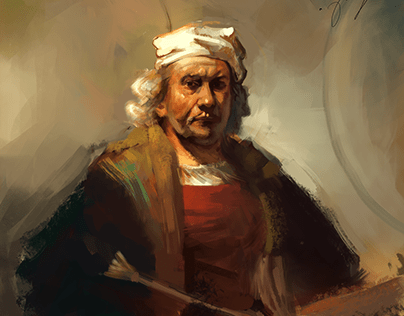 Copy of a Rembrandt