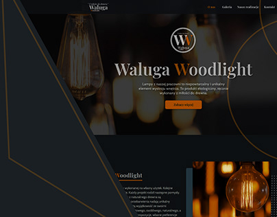 Website project Woodlight.com