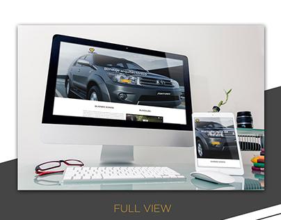 Moviblind Web Design