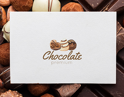 Watercolor chocolate