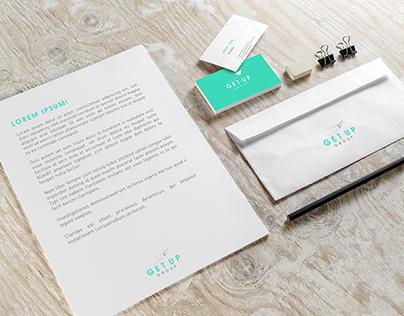 GetUp Group - Logo Design & Brand Identity