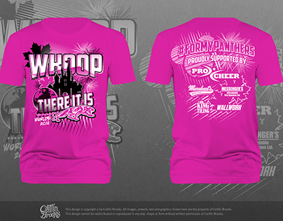 Ultimate Canadian Cheer - Worlds T-Shirt