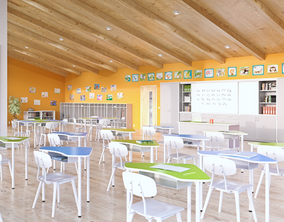 3D Visualisation for school furniture