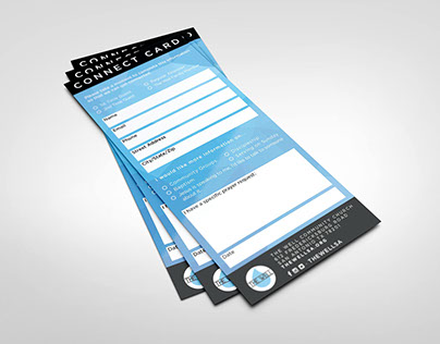 The Well Community Church - Connect Card