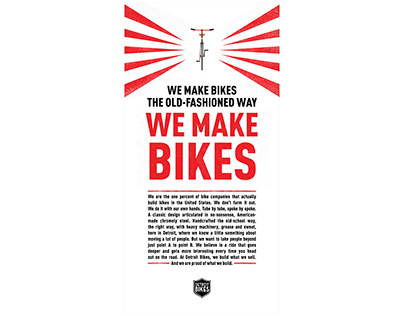 Detroit Bikes: We Make Bikes