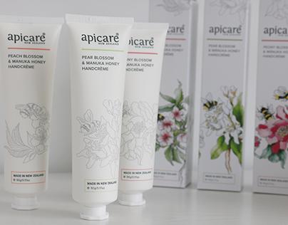 Apicare NZ - New Manuka Honey Handcreme Packaging