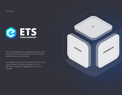 ETS International promo-site