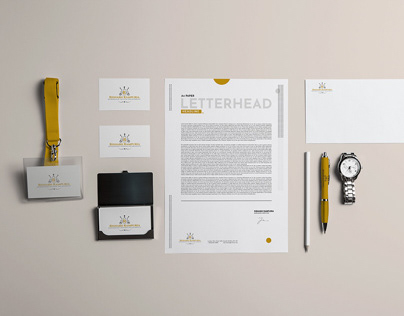 Branding Identity design for an Entrepreneur.