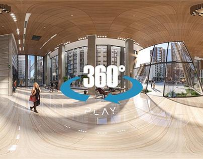 NYC Lobby Panorama 360