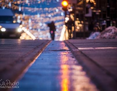 Krajobraz Miejski nocą