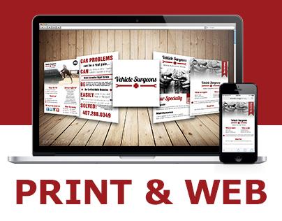 Vehicle Surgeons - Print & Web