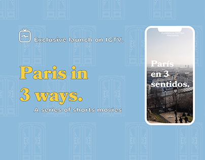 Paris in 3 Ways - Personal Project