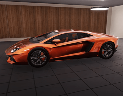 Lamborghini Aventador (UE4)