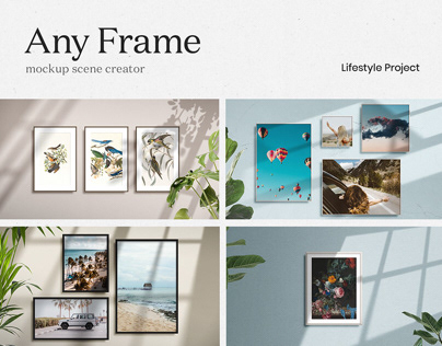 Any Frame Mockup Scene Creator