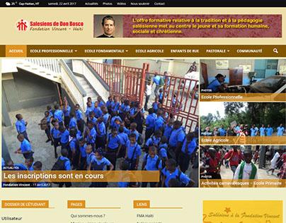 Fondation Vincent - Salésiens de Don Bosco Cap-Haïtien
