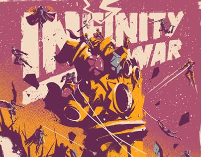 Infinity War X Screenprint
