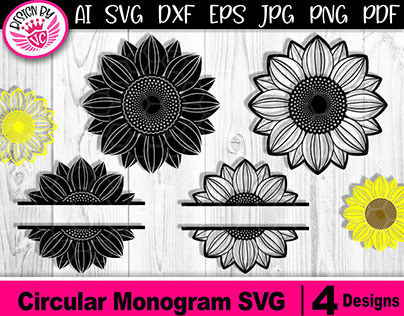 Svg Cut File Projects Photos Videos Logos Illustrations And Branding On Behance