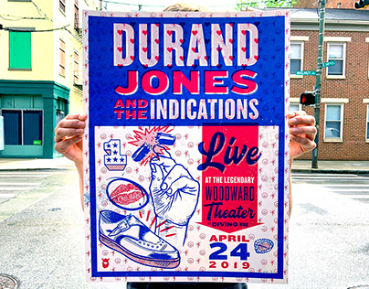Durand Jones and the Indications Poster