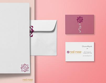 Branding-Red rose design