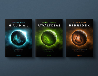 Xenogenesis Trilogy Book Covers