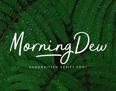 MorningDew Typeface